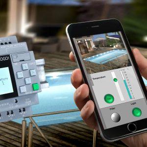 کنترل موتورخانه و استخر با موبایل
