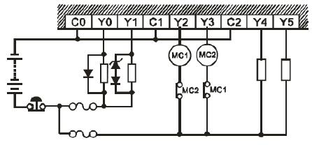 نحوه اتصال خروجی های ترانزیستوری نوع NPN